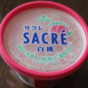 【フタバ食品】サクレ の 白桃!!