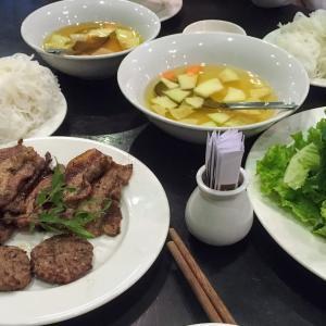 ベトナムつけ麺ブン・チャー|Bun cha