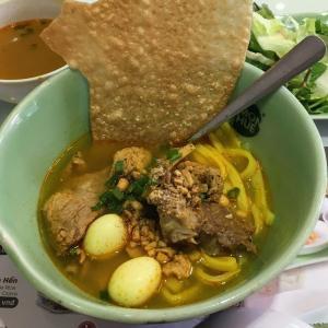 ベトナム中部発祥のベトナム麺料理「ミー・クアンMi Quang」
