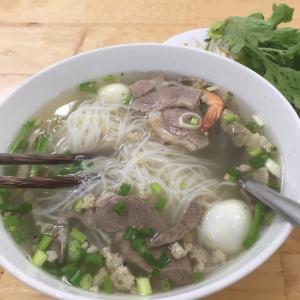 ベトナム南部のPho「フー・ティウ| Hu Tieu」