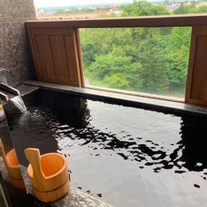 北海道ホテルでモール温泉を大満喫!!
