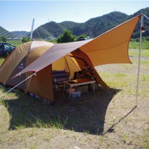 長良川でキャンプをしてきました。
