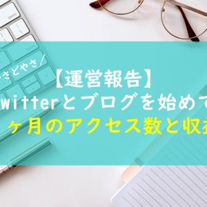 【運営報告】Twitterとブログ初めて1ヶ月のアクセス数・収益について綴る