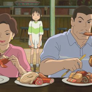 千と千尋の神隠しで父親が食べていた物はシーラカンスの胃袋!?