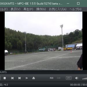 MPC-BEで動画が縦や横に伸びた状態になってしまう