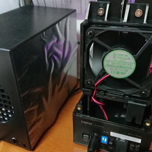 Logitec ガチャベイ LHR-2BRHU3(RAID0/1に対応した安価なHDDケース)