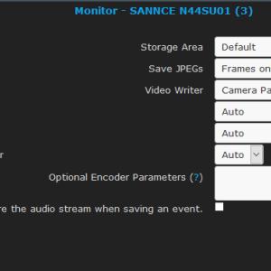 ZoneMinderでイベントの保存先を外付けHDDに変更する