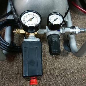 エアーコンプレッサーの圧力スイッチ交換手順(修理)
