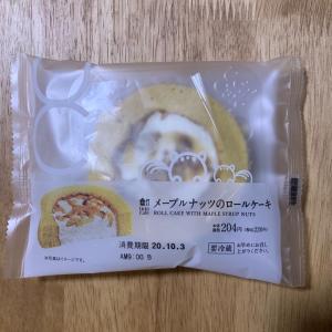 LAWSON♡メープルナッツのロールケーキ♡コンビニスイーツ