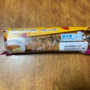 ファミマ♡安納芋クッキークリームサンド♡コンビニスイーツ