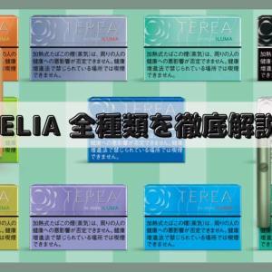 TEREA(テリア)アイコスイルマ専用スティック全11種類のフレーバーを吸ってみた感想┃人気の味やおすすめを紹介