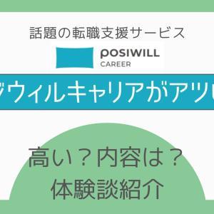 【体験談あり】ポジウィルキャリアの値段は高い?評判は?徹底解説