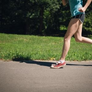 ルームランナーの時のような走りでジョギングも