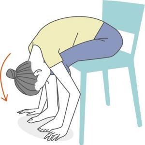 【腰痛・将来の誤嚥対策】ちょうつがい体操