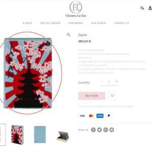 【旭日旗】 「戦犯旗、思わず見たら」~英ファッションブランド、旭日旗描かれたバッグを販売して物議[10/26]  [蚯蚓φ★]