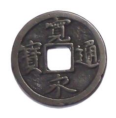 金運スポット-銭形砂絵-