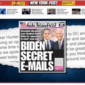 【米大統領選】バイデンの致命傷メール発覚も、フェイスブックとツイッターは拡散禁止⇒ネットの反応「マスコミもSNSもバイデンの真実は隠す」