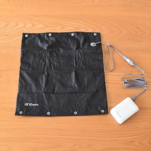 """USBでプチ暖房始めました♪アウトドアや防災にも便利なUSB ウォームパッド""""エネタンポ"""""""