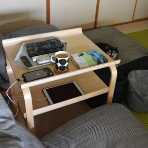 artek scope 別注バーチ◇サイドテーブルが使いやすい♪けっこう雑多に使ってます!