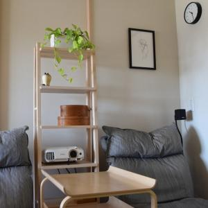 IKEA◇オープンシェルフ VILTO 組み立て&設置しました♪セカンドリビング Before & After
