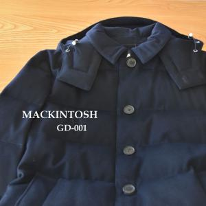 MACKINTOSH◇ウール ダウンジャケット GD-001 ステンカラーコートがベースの飽きのこないデザイン