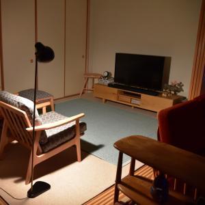 フロアライトの配置換え◇照明のインテリア性と使いやすさの変化 Louis Poulsen VL38 Floor