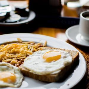 ラテンの国の朝食