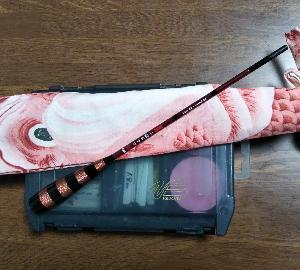 タナゴの竿袋と仕掛けを作った