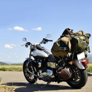 設営5日目:バイクの積載性問題を解消する秘密道具