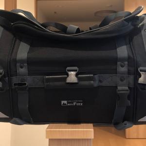 設営41日目:タナックスキャンピングシートバッグ2を改良