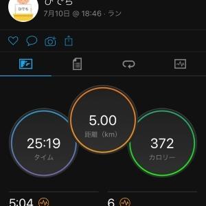 1500m走と言えば【牛丼】と、1500mを意識して。
