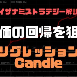 【イザナミ売買ルール】 リグレッションCandle