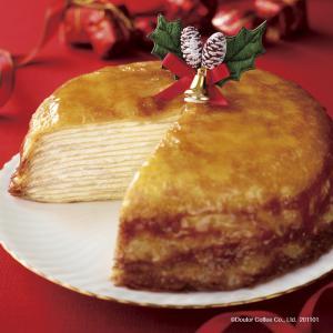 【ドトール】クリスマスケーキ2020 今年はミルクレープとモンブラン!予約方法・予約期間まとめ