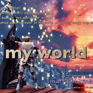 ワールド3年を終えて*♬೨̣̥