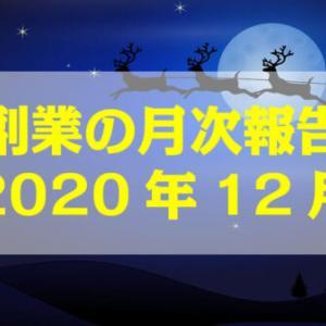 副業の月次報告【2020年12月】
