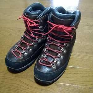 私の相棒。登山靴。