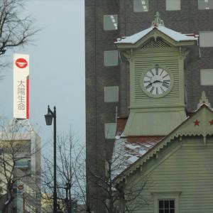 今日の札幌時計台