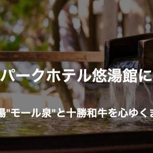 """幕別パークホテル悠湯館に宿泊!源泉100%掛け流し""""モール泉""""を楽しめる!モール泉とはどんな温泉?"""