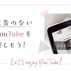 YouTubeの広告がうざいと思ったら消しちゃおう【快適すぎ】