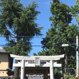 片埜神社に行きました ⛩。