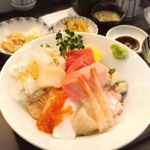 秋夕連休最終日は日本の味~海鮮丼〜♡