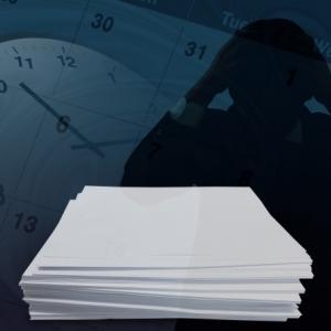 仕事が終わらない人の特徴と、定時で帰るための対処法