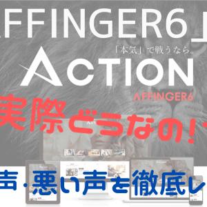 【実際どうなの?】「ACTION(AFFINGER6)」の評判まとめ【WordPressテーマ/ブログ初心者向け】