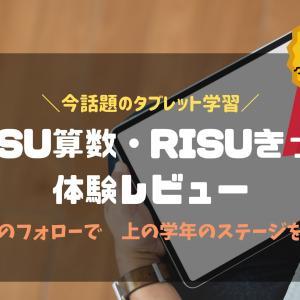 """話題のタブレット学習""""RISU算数""""""""RISUきっず""""体験レビュー"""