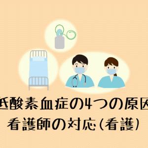 【低酸素血症の4つの原因】看護師の対応(看護)