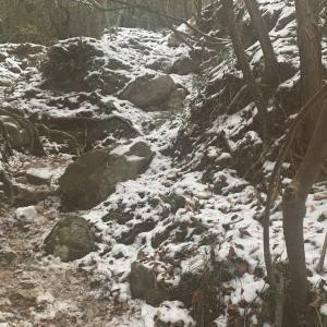ハイスペックな彼と登山⛰🥾 雪☃️...