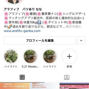 Instagramはじめて 数ヶ月...