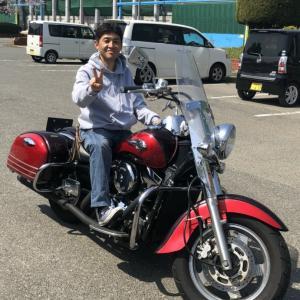 ★まさかの大型バイクを手に入れました!★