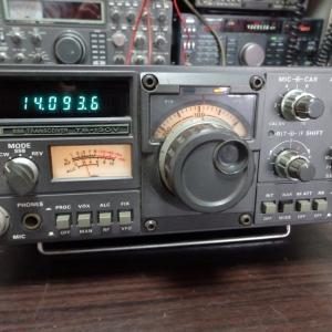 先日買い取りした無線機の中に懐かしいトリオのTS-130が混じっておりました