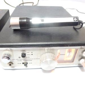 約50年も経た昔のTRIOのTR-1100Bが持ち込まれました